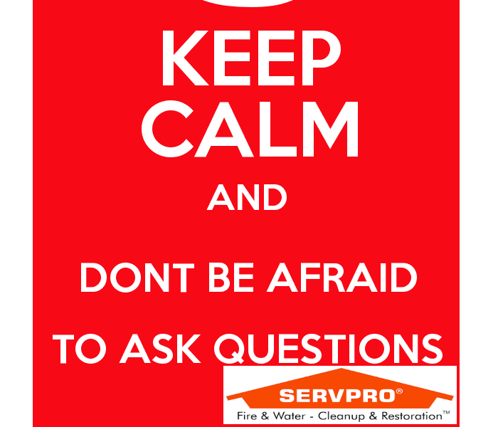 General SERVPRO Professionals: First Impression