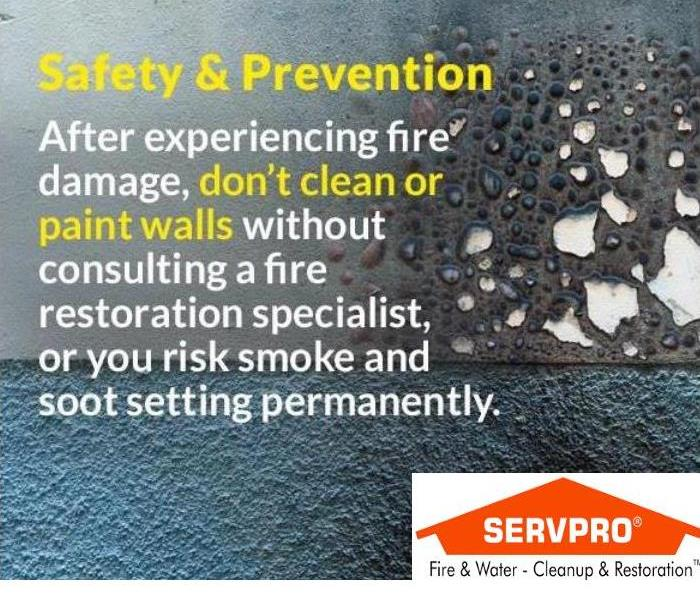 Fire Damage SERVPRO of Grays Harbor & Pacific Counties: Smoke & Soot Clean up